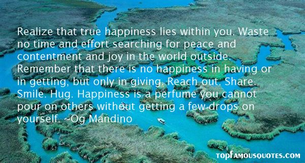 Quotes About Happiness Within Yourself