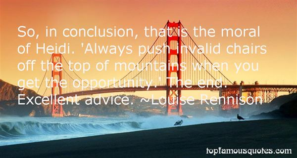 Quotes About Heidi