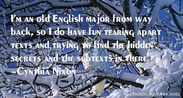 Quotes About Hidden Secrets