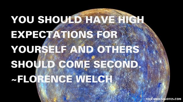 Quotes About High Expectations