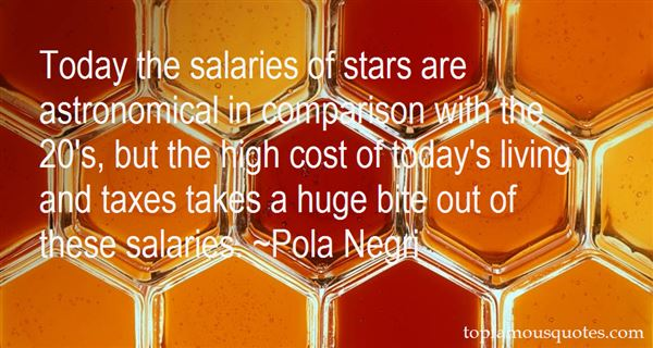 Quotes About High Salaries