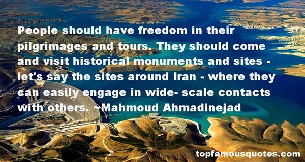 Quotes About Historical Sites