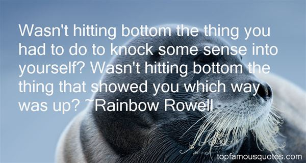 Quotes About Hitting Bottom