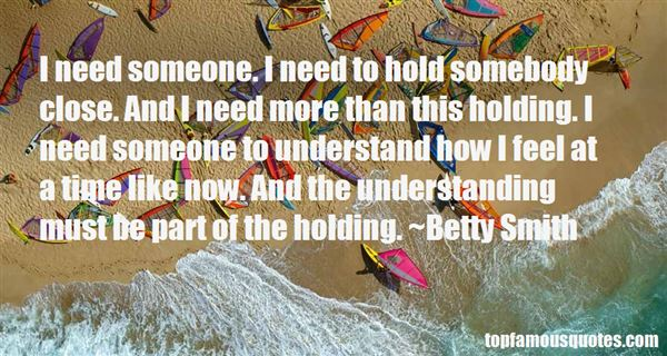 Quotes About Holding Someone