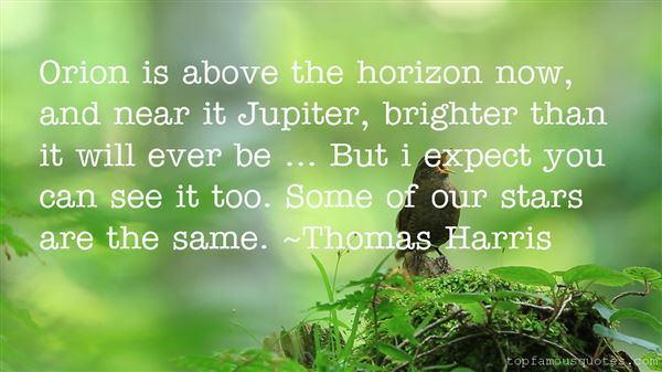 Quotes About Horizon