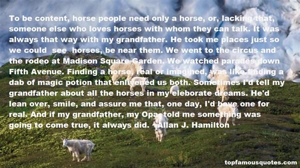 Quotes About Horses And Dreams