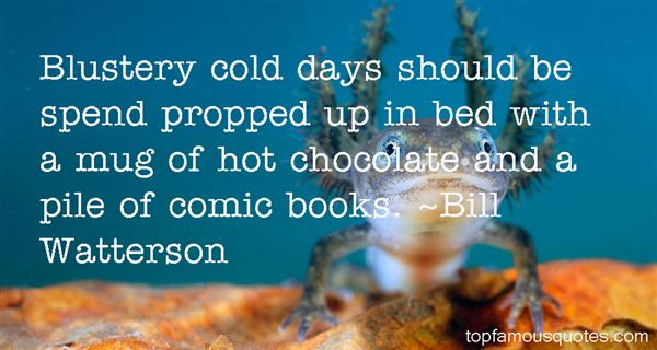 Quotes About Hot Chocolate