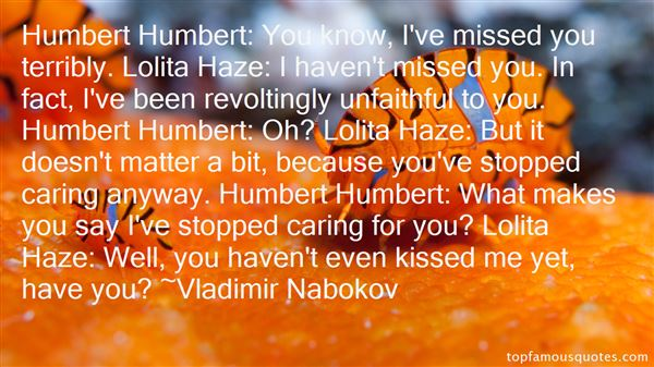 Quotes About Humbert