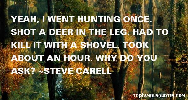 Hunting Deer Quotes: Best 6 Famous Quotes About Hunting Deer