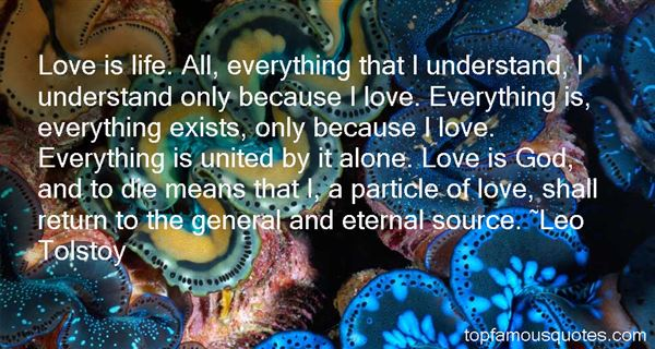 Quotes About If Love Exists