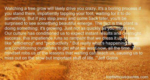 Quotes About Impatient Waiting