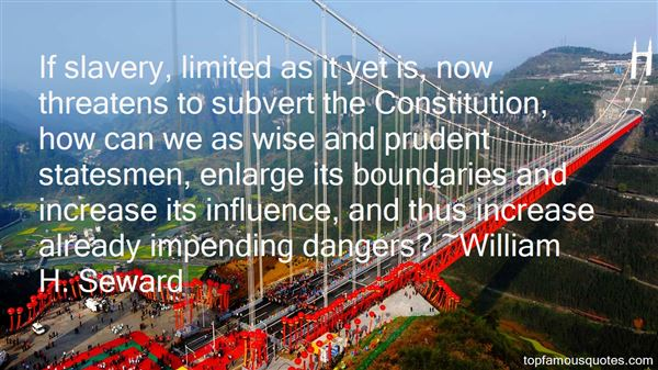 Quotes About Impending Danger