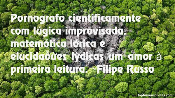 Quotes About Improvisada