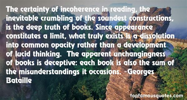 Quotes About Incoherence