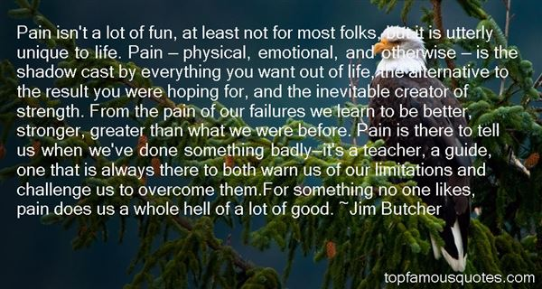 Quotes About Inevitable Pain