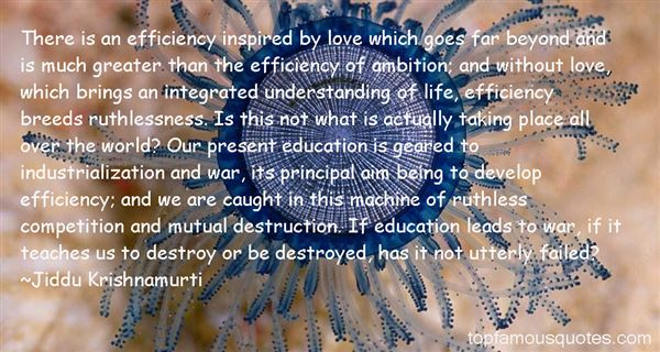 Quotes About Integrated Education
