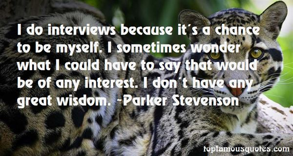 Quotes About Interview