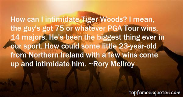 Quotes About Intimidate