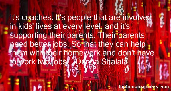 Quotes About Involved Parents
