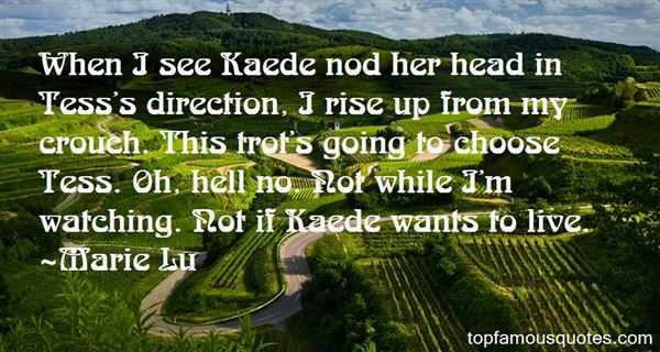 Quotes About Kaede