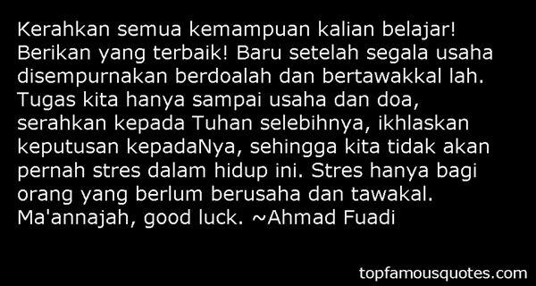 Quotes About Keputusan