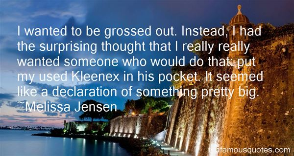 Quotes About Kleenex