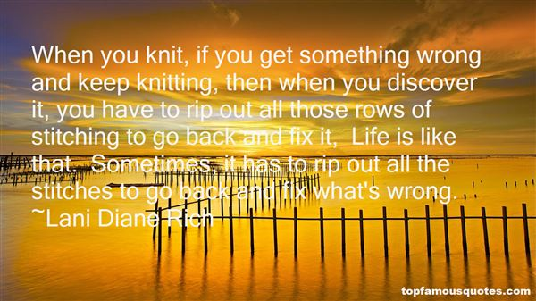 Quotes About Knitting And Life