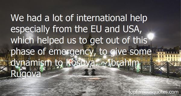 Quotes About Kosova