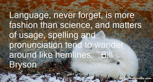 Quotes About Language Usage