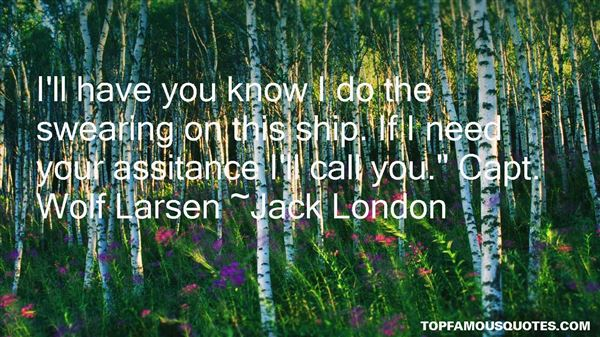 Quotes About Larsen
