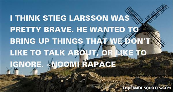 Quotes About Larsson