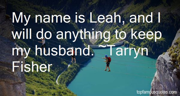 Quotes About Leah