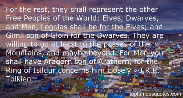 Quotes About Legolas