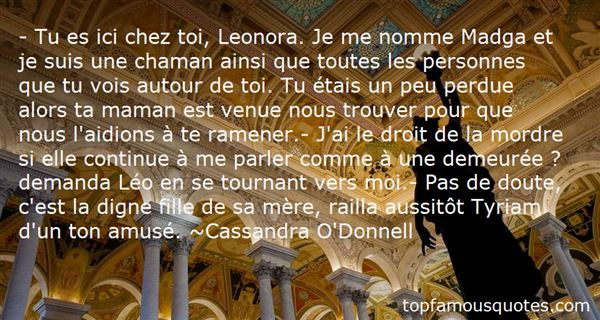 Quotes About Leonor
