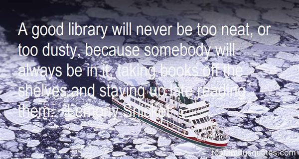 Quotes About Library And Reading