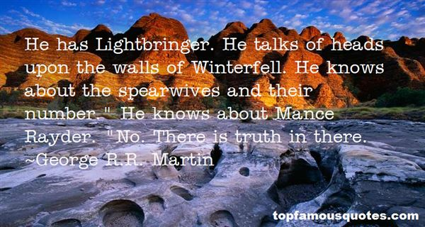 Quotes About Lightbringer