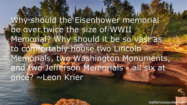 Quotes About Lincoln Memorial
