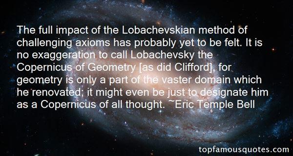 Quotes About Lobachevskian