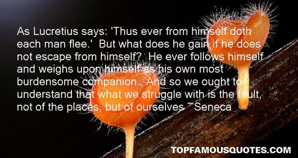 Quotes About Lucretius