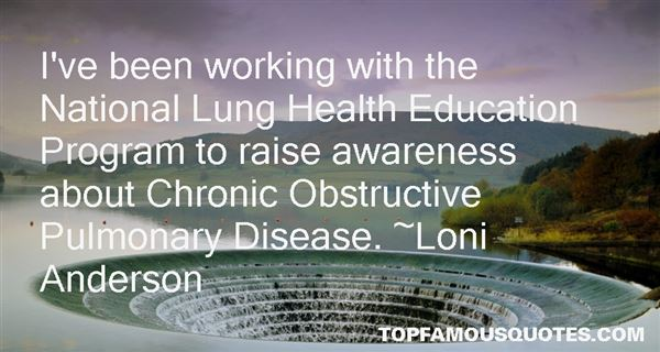 Quotes About Lung Disease