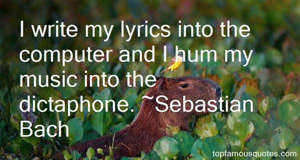 Quotes About Lyrics And Music
