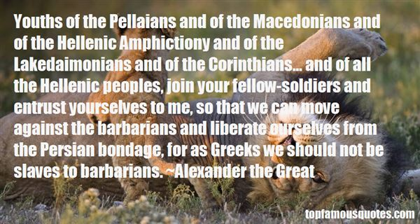 Quotes About Macedonians