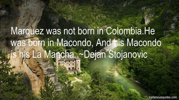 Quotes About Macondo