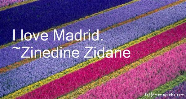 Quotes About Madrid