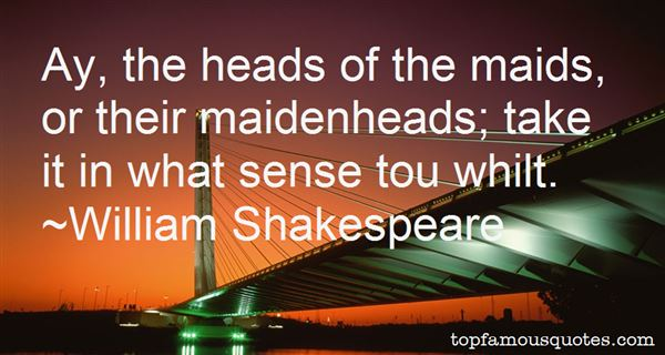 Quotes About Maidenhead