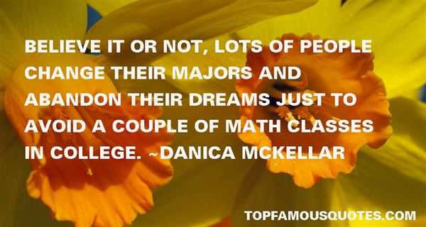 Quotes About Majors In College