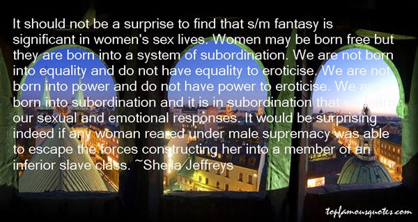 Quotes About Male Supremacy