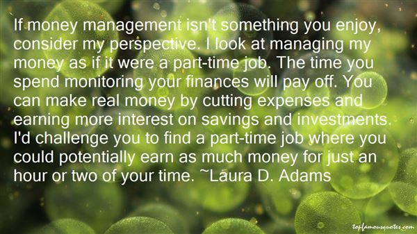 Quotes About Managing Money