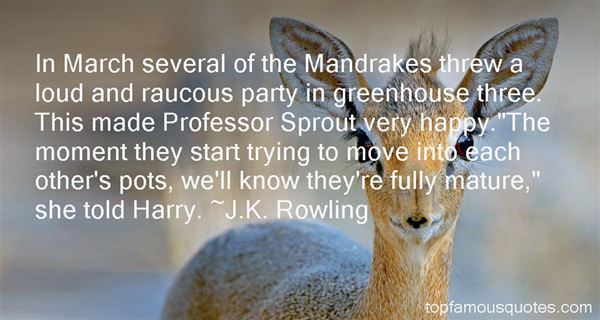 Quotes About Mandrake