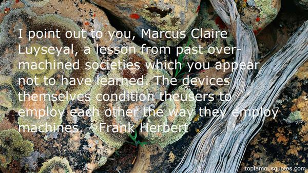 Quotes About Marcus